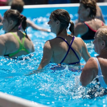 benefits to working out in water